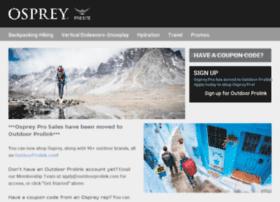 osprey.outdoorprolink.com