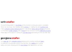 ostafiev.com