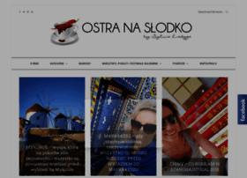 ostra-na-slodko.pl