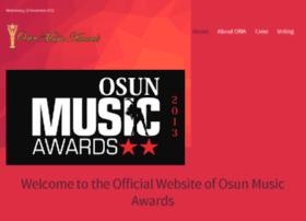 osunmusicawards.com