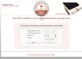 otherfacportal.uniuyo.edu.ng