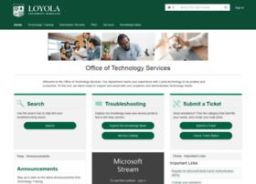ots.loyola.edu