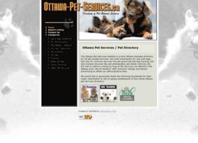 ottawa-pet-services.ca