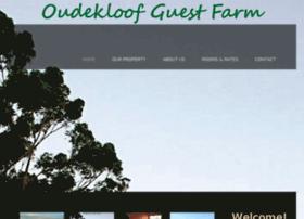 oudekloofguestfarm.co.za