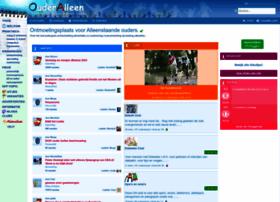 ouderalleen.nl medium Er is een advertentierubriekvoor (contact )advertenties een drukbezochte ...