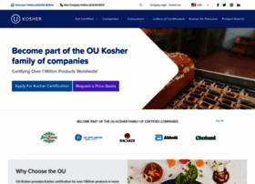 oukosher.org