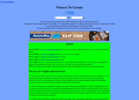 ouncestograms.com