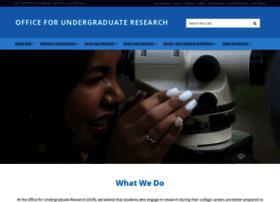 our.unc.edu