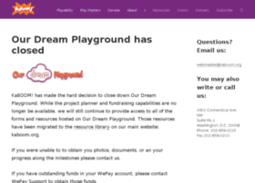 ourdreamplayground.kaboom.org