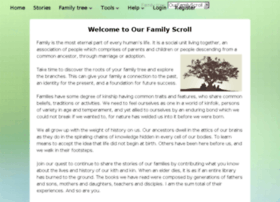 ourfamilyscroll.com