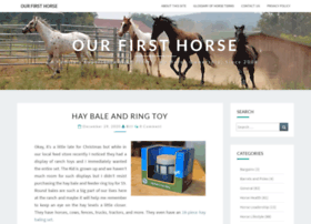 ourfirsthorse.com