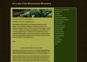 ourladyoftheresurrectionmonastery.webs.com