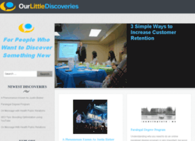 ourlittlediscoveries.com