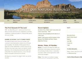 ournaturalresources.org