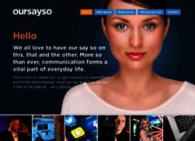 oursayso.com