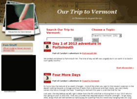 ourtriptovermont.com
