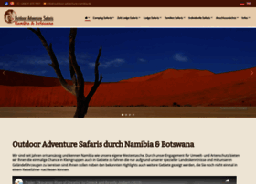 outdoor-adventure-namibia.de