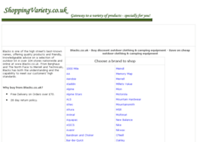 outdoor-clothing-camping-equipment.shoppingvariety.co.uk