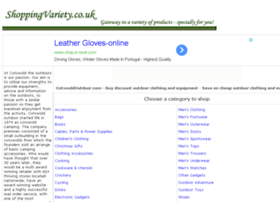 outdoor-clothing-equipment.shoppingvariety.co.uk