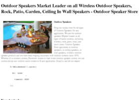 outdoorspeakerstore.com