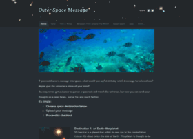 outerspacemessage.com