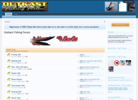 outkastfishingforum.com