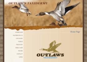 outlawstaxidermy.com