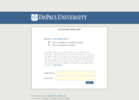 outlook.depaul.edu
