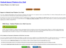 outlook.windowslivemailconverter.com