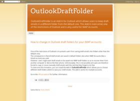 outlookdraftfolder.blogspot.com