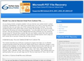 outlookemailrecoverysoftware.microsoftpstfilerecovery.com