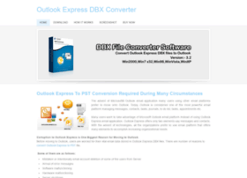 outlookexpressdbxconverter.weebly.com
