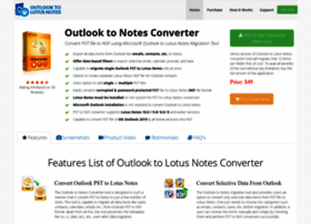 outlooktolotusnotes.com