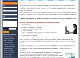 outsourcingtranscriptionservices.com