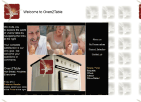 oven2table.com