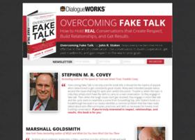 overcomingfaketalkbook.com