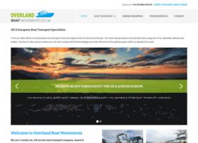 overlandboatmovements.co.uk