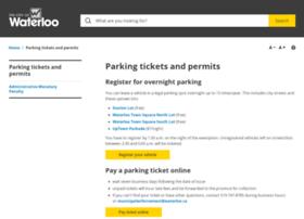 overnightparking.waterloo.ca