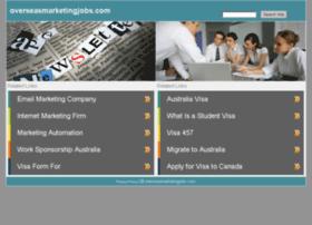 overseasmarketingjobs.com