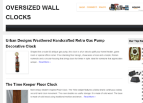 oversized-wall-clocks.com