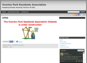 overtonparkresidentsassociation.com