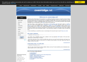 owenrudge.net