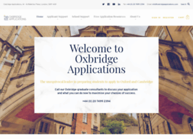 oxbridgeapplications.com