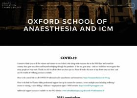 oxfordanaesthesia.org.uk