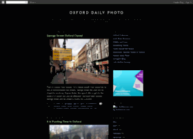 oxforddailyphoto.blogspot.com