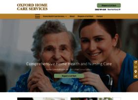 oxfordnursingcare.com