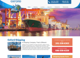 oxfordshipping.com