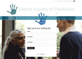 oxfordsocietyofpaediatrics.co.uk