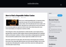 oxfordtricks.com