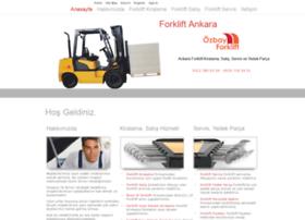 ozbayforklift.com